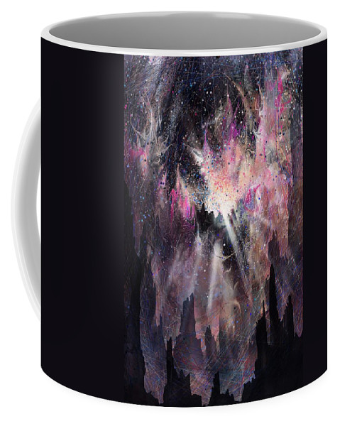 Landscape Coffee Mug featuring the digital art The Gift by William Russell Nowicki