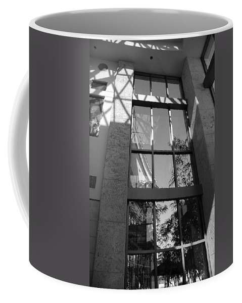 Sun Coffee Mug featuring the photograph The Glass Window by Rob Hans