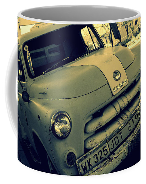Photography Coffee Mug featuring the photograph The Good Old Days On Route66 by Susanne Van Hulst