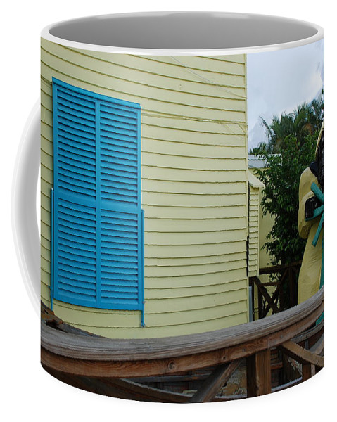 Architecture Coffee Mug featuring the photograph The Gordons Fisherman by Rob Hans
