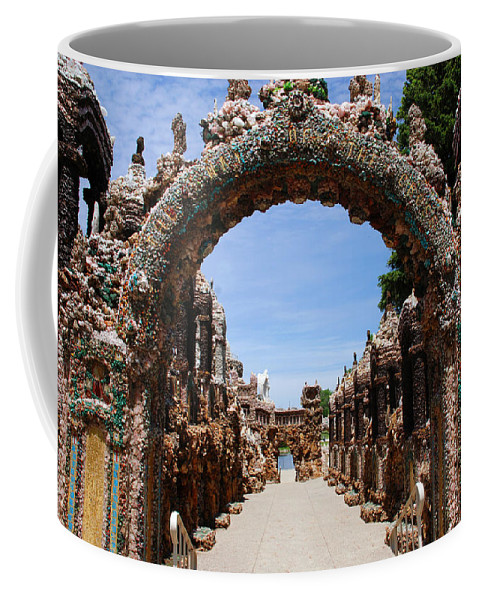 Photography Coffee Mug featuring the photograph The Grotto Of Redemption by Susanne Van Hulst