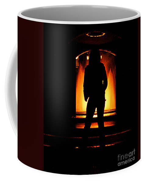 Clay Coffee Mug featuring the photograph The Guardian by Clayton Bruster
