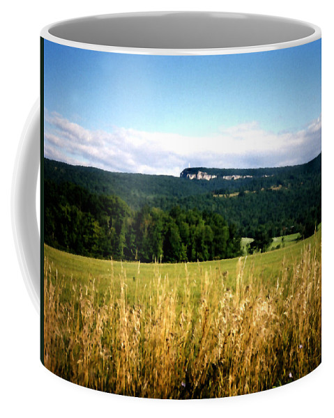 Mountains Coffee Mug featuring the painting The Gunks by Paul Sachtleben