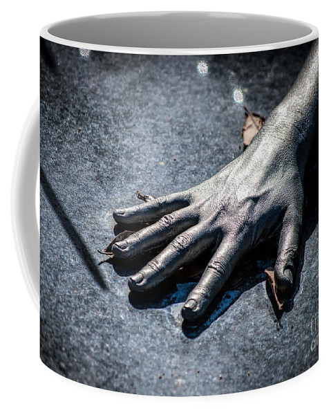 Hand Coffee Mug featuring the photograph The Hand by Kathleen K Parker