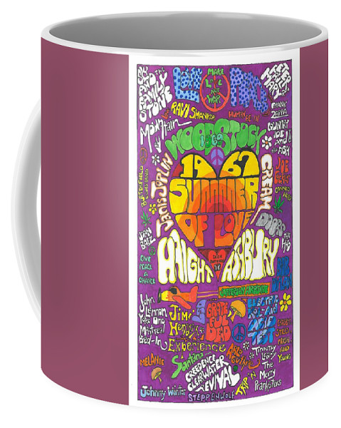 1967 Coffee Mug featuring the drawing The Height of Highness by David Sutter
