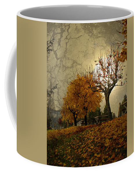 Autumn Coffee Mug featuring the photograph The Holder Of Light by Tara Turner