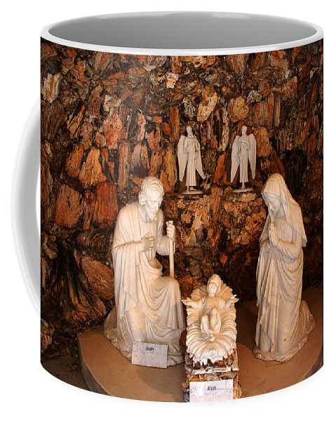 The Holy Family Coffee Mug featuring the photograph The Holy Family by Susanne Van Hulst