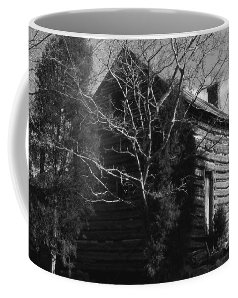 Cabins Coffee Mug featuring the photograph The Homestead by Richard Rizzo