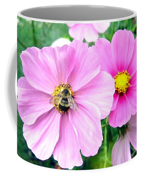 Bee Coffee Mug featuring the photograph The Honeymaker by Will Borden