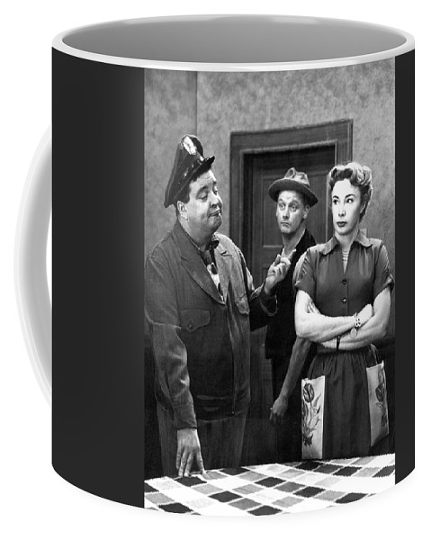 Publicity Photo Coffee Mug featuring the photograph The Honeymooners 1950s by Mountain Dreams