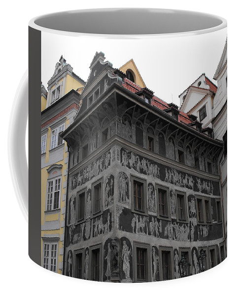 The House At The Minute Coffee Mug featuring the photograph The House At The Minute by Ginger Repke