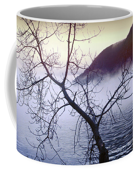 Hudson River Coffee Mug featuring the photograph The Hudson Highlands by Yuri Lev