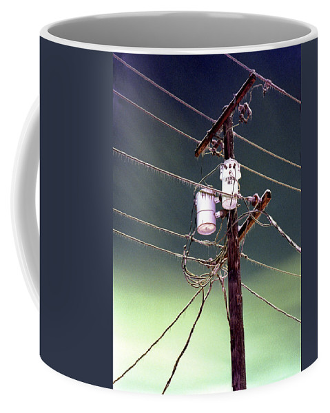 Portland Coffee Mug featuring the photograph The Ice Storm 1 by Lee Santa