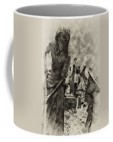 Philadelphia Coffee Mug featuring the photograph The Irish Famine by Bill Cannon
