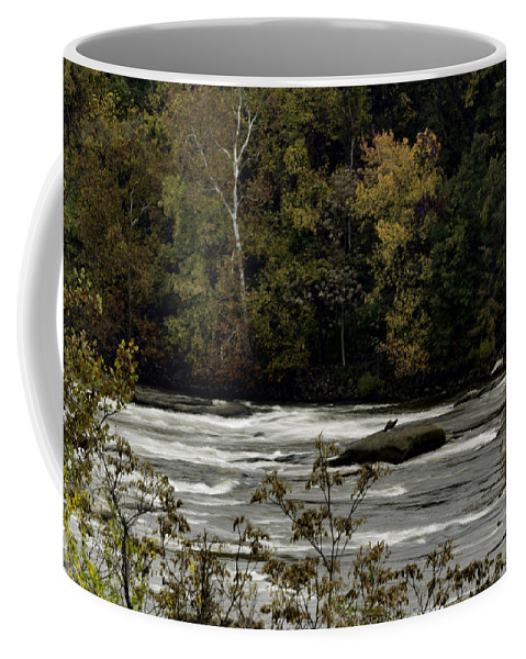 Richmond Coffee Mug featuring the photograph The James by Pete Federico