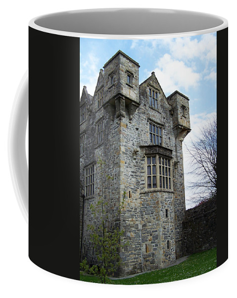 Ireland Coffee Mug featuring the photograph The Keep At Donegal Castle Ireland by Teresa Mucha