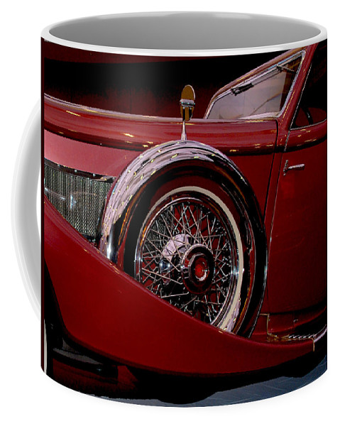 Cars Coffee Mug featuring the photograph The King Of The Road by Susanne Van Hulst