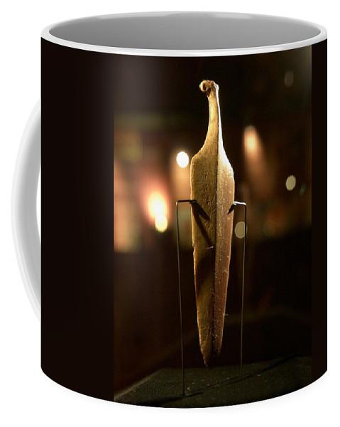 Lehtokukka Coffee Mug featuring the photograph The Knife by Jouko Lehto