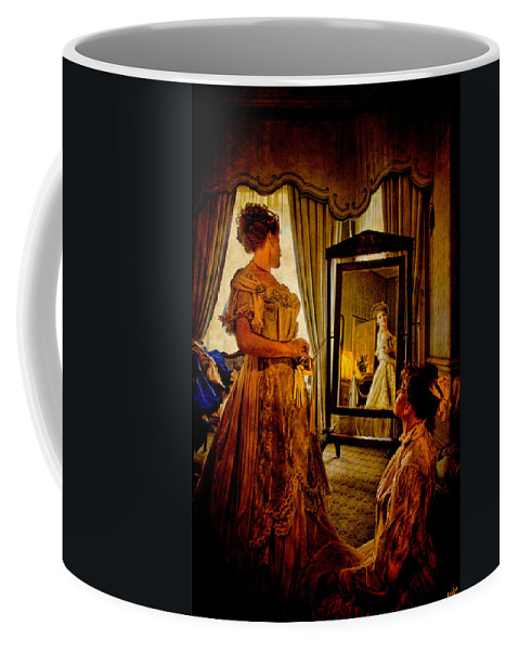 Dress Coffee Mug featuring the photograph The Lady Of The House by Chris Lord