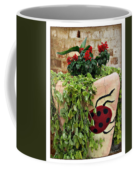 Ladybug Coffee Mug featuring the photograph the Ladybug by Joan Minchak