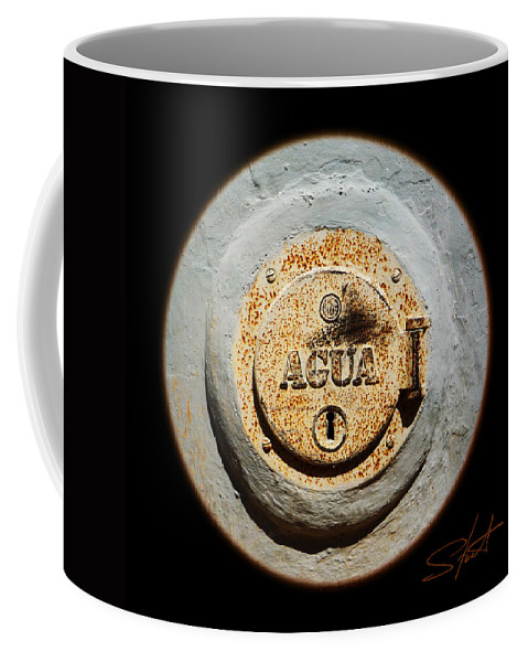 Lake Coffee Mug featuring the photograph The Lake That Was by Charles Stuart
