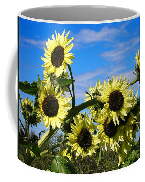 Flowers Coffee Mug featuring the photograph The Last Of Summer by Steve Karol