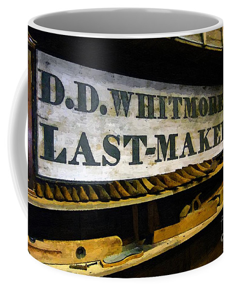 Antique Coffee Mug featuring the painting The Last Of The Last by RC DeWinter