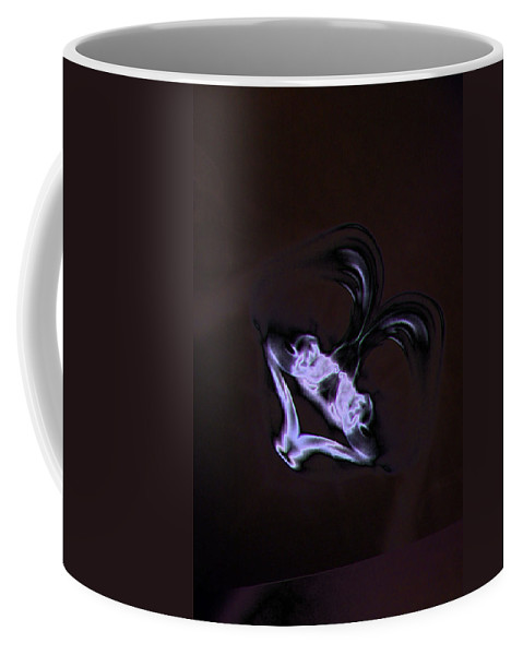 Smoke Coffee Mug featuring the photograph The Laughing Man by Jeff Swan