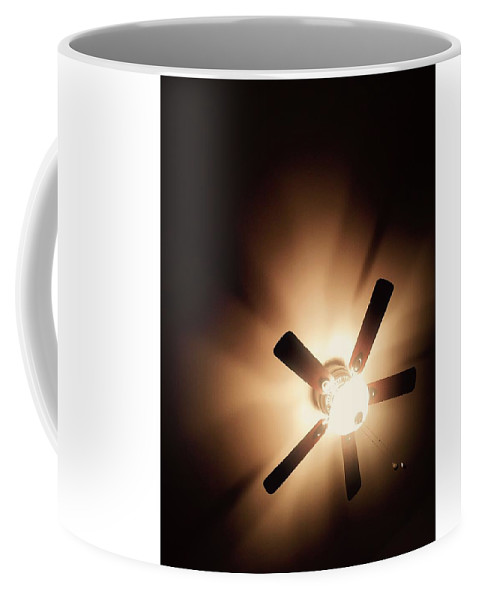 Coffee Mug featuring the photograph The Light Above by Tracey Lotze