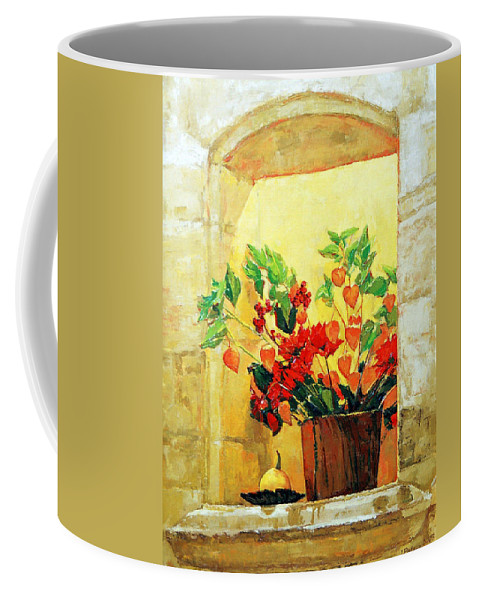 Still Life Coffee Mug featuring the painting The light by Iliyan Bozhanov