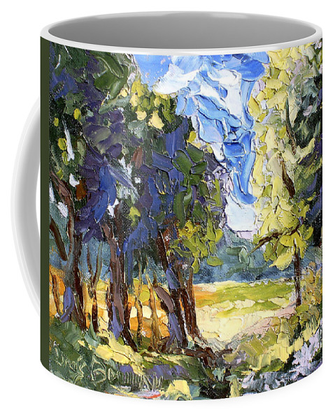 Loose Coffee Mug featuring the painting The Light Of Day by Lewis Bowman
