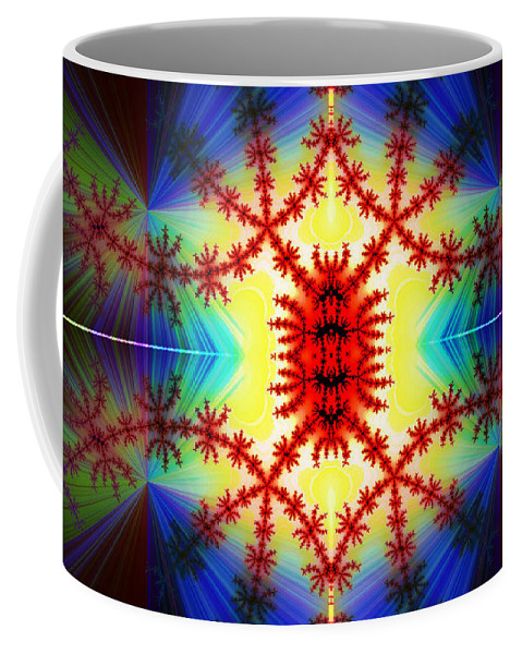 Clay Coffee Mug featuring the digital art The Light Within by Clayton Bruster