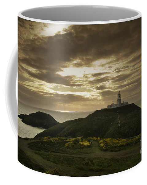 Lighthouse Coffee Mug featuring the photograph The Lighthouse by Angel Tarantella