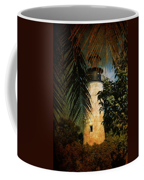 Lighthouse Coffee Mug featuring the photograph The Lighthouse In Key West by Susanne Van Hulst