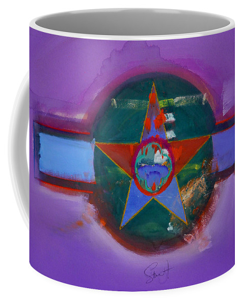 Star Coffee Mug featuring the painting The Lighthouse Keeper by Charles Stuart