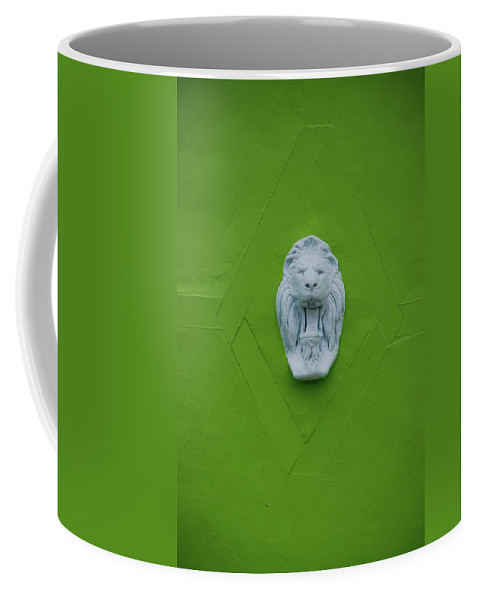 Lion Coffee Mug featuring the photograph The Lion by Rob Hans