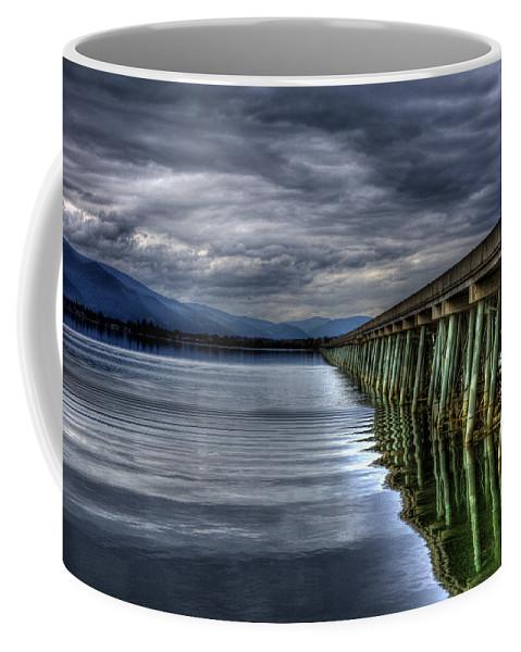 Sandpoint Coffee Mug featuring the photograph The Longbridge Version 1 by Lee Santa