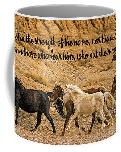 The Lord's Delight Coffee Mug featuring the photograph The Lord's Delight by Priscilla Burgers