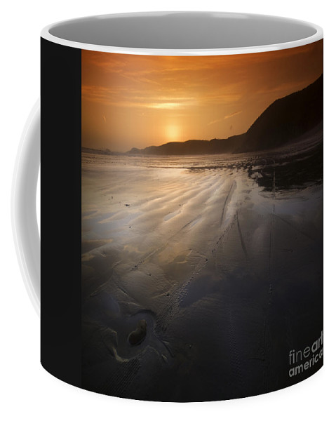 Stone Coffee Mug featuring the photograph The Lost Heart by Angel Tarantella