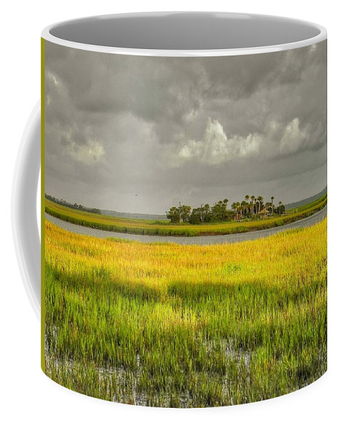 Marsh Coffee Mug featuring the photograph The Lovely Low Country by Patricia Greer