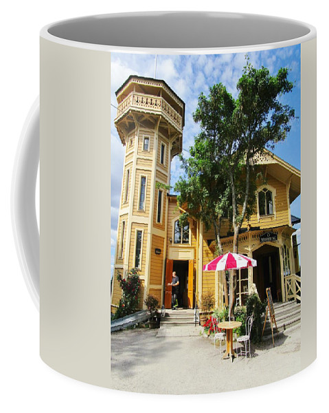 House Coffee Mug featuring the photograph The Lyre by Rosita Larsson