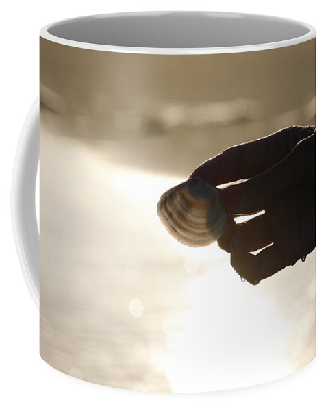 Hand Coffee Mug featuring the photograph The Magic Of Light by Marilyn Hunt