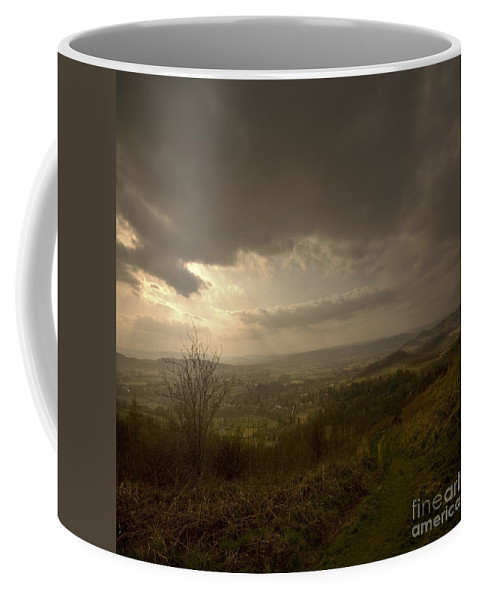 Malvern Coffee Mug featuring the photograph The Malvern Hills by Angel Tarantella