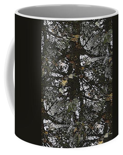 Coffee Mug featuring the digital art The Marsh by Tim Allen