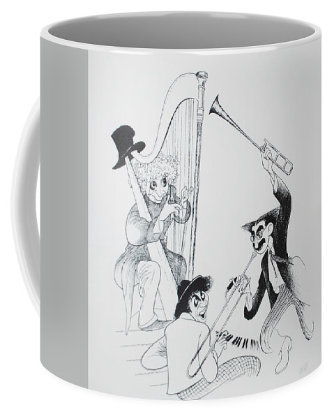 The Marx Brothers Coffee Mug featuring the photograph The Marx Brothers O by Rob Hans