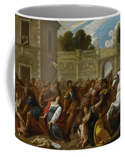 Carlo Coppola 1610 - 1690 The Massacre Of The Innocents Coffee Mug featuring the digital art The Massacre Of The Innocents by Mark Carlson