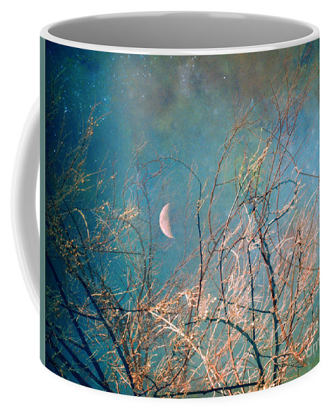 Moon Coffee Mug featuring the photograph The Messy House Of The Moon by Tara Turner