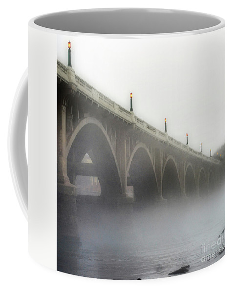 Scenic Coffee Mug featuring the photograph The Midlands Bridge by Skip Willits