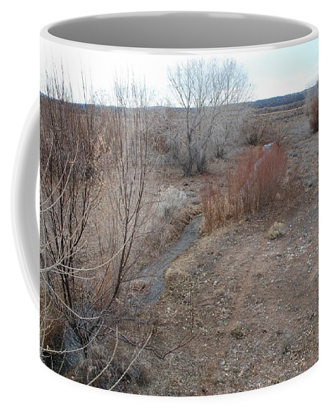 River Coffee Mug featuring the photograph The Mighty Santa Fe River by Rob Hans