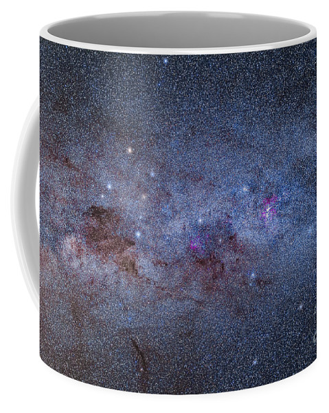 Australia Coffee Mug featuring the photograph The Milky Way Through Carina And Crux by Alan Dyer